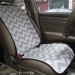 Wholesale Blanks Chevron Car Seat Cover Front Seat Protector for Single Seat in Colors DOM106142