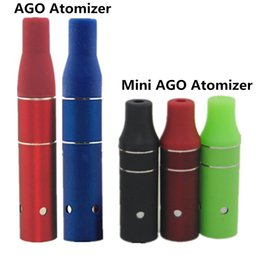Ago G5 Vaporizer Clearomizer Mini ago g5 Atomizer for Solid e-flavor Herb Cut tobacco Dry Herb Vape pens for ecigs eGo evod Battery