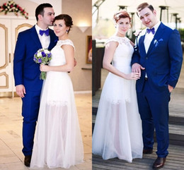 2015 Hot sale fashion royal blue Groom Tuxedos Long sleeves Two buttons front Custom made formal Mens suits Groomsmen Tu (Jacket+Pants)-q183