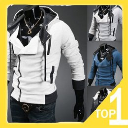 2016 New Men's Hoodies Korean Slim Hooded Sweatshirt Trench Coat Christmas Long Sleeve Cardigan Men Clothing Clothes Outerwear 6 Colors N23
