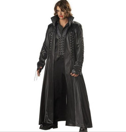 Wholesale Hot Sexy Men vampire Theme Costumes Matrix DS PVC clubwear Menatplay Prison inmates Bondage sapcesuit Fetters Costumes cosplay