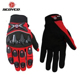 Gants dirt bike en Ligne-SCOYCO Motorcross Gants de course hors route Maille respirante Moto Luva Moto Guantes Moto Enduro Dirt Bike Riding Gloves