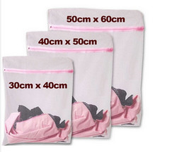 Wholesale S M L Clothes Washing Machine Laundry Bra Aid Lingerie Mesh Net Wash Bag Pouch Basket
