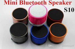 Wholesale Wireless Bluetooth Stereo Speaker S1O Mini Bluetooth Speaker Support MIC TF Card Hands free For iPhone4G s iPad S4 min
