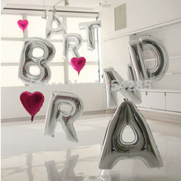 Big Silver Letters Silver Balloon Letters Samples Silver Balloon Letters Samples