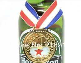 Wholesale New Novelty Gold Medal Beer Bottle Opener sausage machine