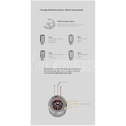 Wholesale Authentic 100% Original SMOK Coil TF T3 Q4 Coils For TFV4 Triple Coil Quadruple Coil RBA Single Coil