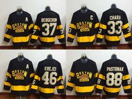 Boston Bruins 2016 Winter Classic Jerseys #33 Zdeno Chara Black Jersey Boston Hockey Jersey Wholesale Cheap Hockey Jersey