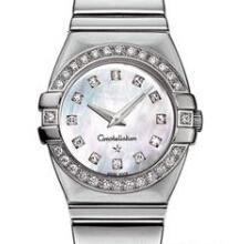 Best Brands Womens Stainless Steel Watches Luxury Diamond Bezel Sapphire Watches White Face Fashion Quartz Wristwatches for Women Lady Girl