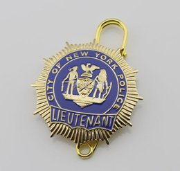 Wholesale The United States of New York lieutenant NYPD LIEUTENANT badge badge