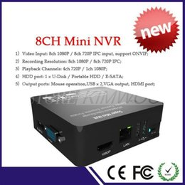 Wholesale 2015 New SUPER MINI NVR p p ch Network Digital Video Recorder ONVIF above IP Camera Compatible P2P Cloud Ip Cameras