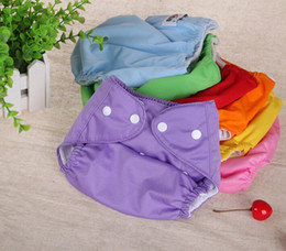Baby Cloth Diaper Washable Reusable Adjustable size Baby Diaper Pants Diaper Covers Nappy Urine Pants Variety colors