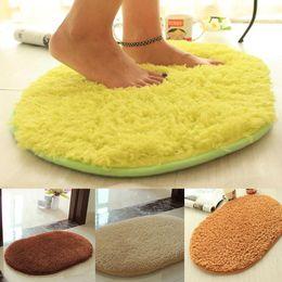 Wholesale Bath Bathroom Rugs Plush Fabric Kitchen Door Floor Carpets cm Absorbent Non slip Rug