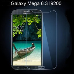 Wholesale Explosion Proof Tempered Glass Mega I9200 Screen Protector Film For Samsung Galaxy Mega I9200 G5308W J1 A7 A5 Note s6 egde s5 s4 s3