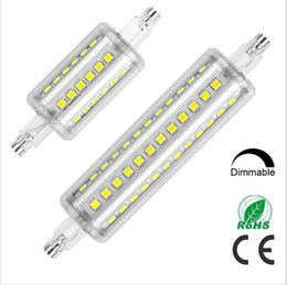 360 Degree Angle R7S 5W 10W Dimmable LED Corn Bulb Light 78MM 118MM 85-265V Cool White   Warm White Replace 50W Halogen lamp
