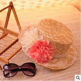 2017 gros canotier Gros-2015 au Japon chapeau femme soleil plage panama féminins floraux femmes mignon safari chapeau canotier chapeau de paille gros canotier promotion