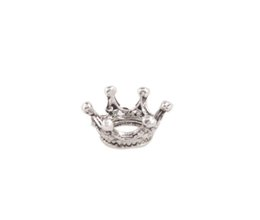 Wholesale New Arrive Antiqued Silver Metal King Crown Charms