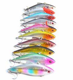 Wholesale 8 CM G VIB fishing lure fishing bait minnow bass lure fishing tackle isca artificial wobbler crankbait