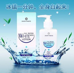 Wholesale 2015 Valentine Skin Protein Original Snow White Whitening Cream ml Whole Body Lotion Beauty Makeup Effective Skin Care