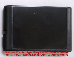 Wholesale-Game Cartridge Replacement Plastic Shell For MEGADRIVE or GENESIS
