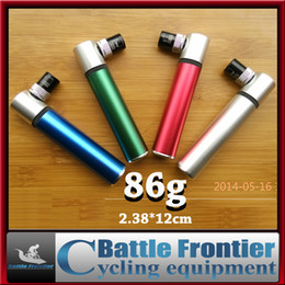 Wholesale 2015 brand new g ultralight mini cycling air pump portable bicycle tire inflator presta schrader valve bike accessories balls