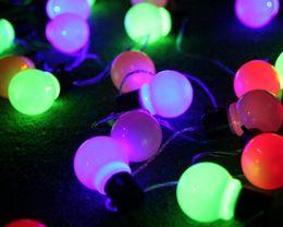 5m LED Strings 20leds Ball Bulb Diameter 5cm for Christmas Party Wedding Decoration AC 110V 220V with Plug Red Blue Green RGB White MOQ10