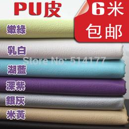Wholesale 100 cm Meters big litchi PU artificial leather diy bag soft bag artificial leather fabric