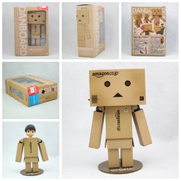 Wholesale Amazon danboard cm Danbo anime Doll set PVC Action Figure Toy with LED Light Alternatively head toys
