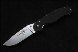 RAT pocket knife Ontario folding knife ,outdoor knife adventure training folding Knife AUS-8 blade G10 Handle free shipping