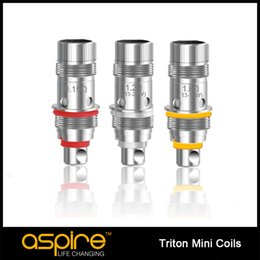 Stock offer original Aspire Triton Mini coil 1.8 1.2 0.15 ohm triton mini replacement coil for triton mini nautilus