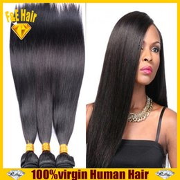 Wholesale brazilian virgin hair extension,human hair weave wavy 3 4pcs lot unprocessed Peruvian Indian human hair weaves free shipping