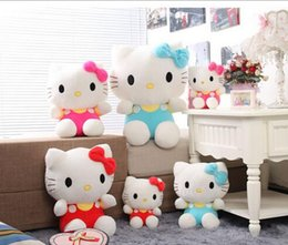Wholesale 2015 New Plush stuffed minions Manufacturers selling classic Hello Kitty Hello Kitty KT cat doll plush toys children female birthday gift