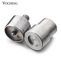 VOCHENG NOOSA Metal Grommet Machine Hand Press Eyelets Spot Snap Button Mould Tool Fit 18mm&12mm Button (NN-236)