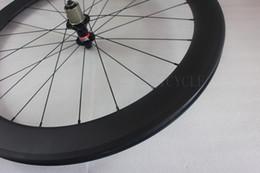 Wholesale 60mm clincher rear road bike wheel H mm width pillar super light aero spokes novatec F482SB hub basalt brake track carbon bicycle wheel