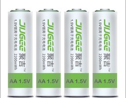 Wholesale JUGEE V lithium battery charging battery AA general rechargeable battery pack