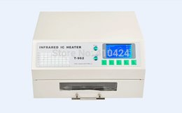 Wholesale Puhui T962 V V Reflow Equipment T Infrared Reflow Oven Furnace IC Heater BGA Rework Station