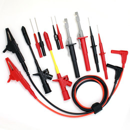 Wholesale DMM007A Multimeter probe kit Piercing Clip test probe Electronic Specialties Test Lead kit Automotive Test Lead Kit