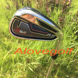 2015 new golf irons RSi 1 irons (4 5 6 7 8 9 Pw Sw Aw ) 9pcs with authentic project X5.5 steel shaft top quality golf clubs