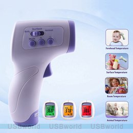 Wholesale Non Contact Infrared IR Laser Thermometers for Baby Health CareTemperature Laser Gun Point LCD Brand New