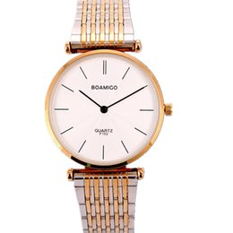 Wholesale Best Cheap Waterproof Watches Boamigo Genuine Couple Watch Lovers Table Leisure Wild Mechanical Wrist Watch Relojes Mujer