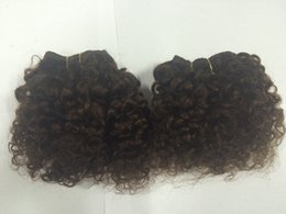 Wholesale Clearance sale quot short peruvian virgin hair extensions bebe curl human hair weaves in stock
