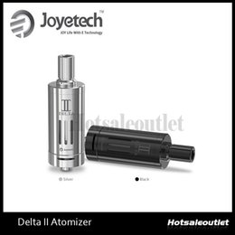 New Joyetech DeltaII Atomizer Delta II 3.5ml Capacity 510 Thread E Cigarette Vaporizer Airflow Adjustable E Cig Clearomzier