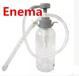 Wholesale 300ml Cleansing Enema Water Liquid Pump Adult Anal Sex Toys For Women Anus Vagina Cleaning Feminine Hygiene ALH300