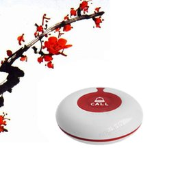 Wholesale 100 Waterproof Wireless table service call button for Hospital Tea House Coffee Shop Health Club Beauty Salon Spa Center Bars