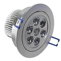 Descuento cree llevó la garantía Top Luz LED de techo Cree LED 21W LED Downlight blanco caliente blanco 7X3W llevó iluminaciones 10PCS CE UL RoHS Garantía 5 años