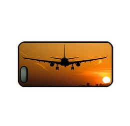 Airplane at Sunset cell phone case for iPhone 4s 5s 5c 6 6s Plus ipod touch 4 5 6 Samsung Galaxy s2 s3 s4 s5 mini s6 edge plus Note 2 3 4 5
