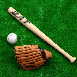 Wholesale Hot Kids Baseball Bat Set Softball Racket Outdoor Sports Set quot Baseball Bat quot Baseball quot Baseball Glove Y1344