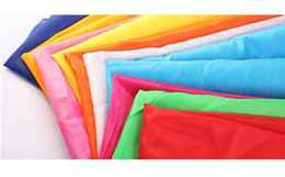 Wholesale 12yard T polyester taffeta fabric garment lining ribbon cutting bunting wedding supplies Breadth cm qqme