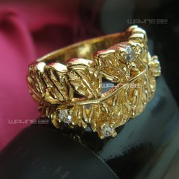 R189- Ladies 18k gold filled engagement wedding ring size 7,9