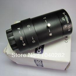 Wholesale Cctv Lens Mm - CCTV Lens HD camera 5-100 mm manual zoom manual iris lens camera monitoring long-distance irradiation
